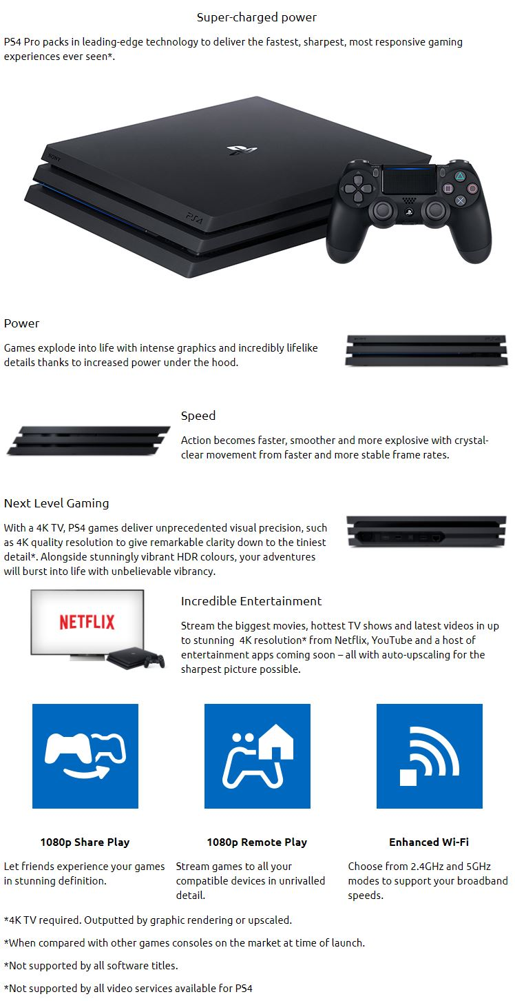 ps4 pro quick start guide